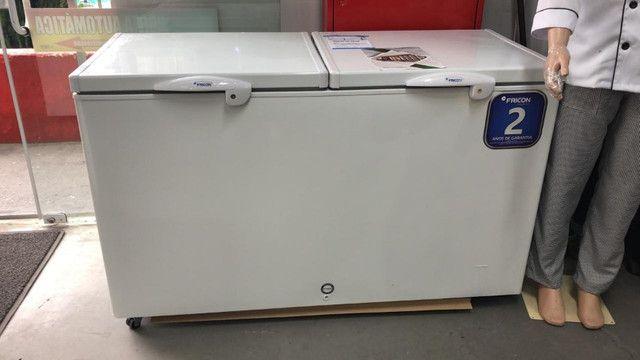 Freezer vertical 503 litros novo *douglas
