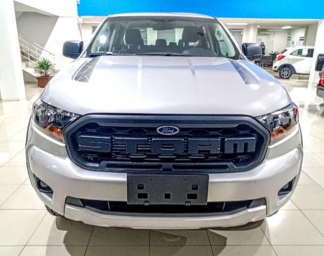 Ford Ranger Storm 4X4 3.2 AT6 - 2021 Diesel - Foto 8