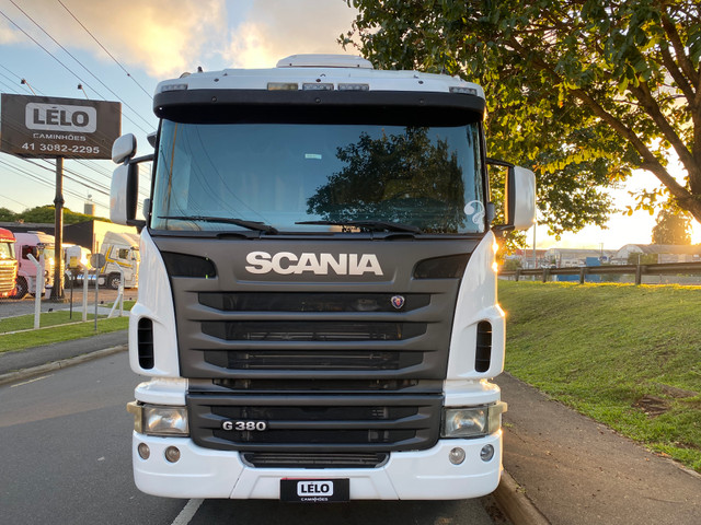 Scania G380 Trucado 6x2 Fino Trato 2011 Top Só Trabalhar - Foto 3