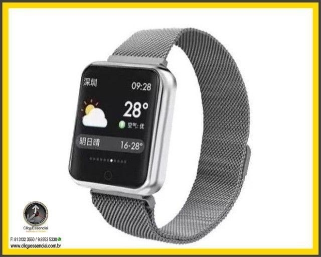 Relógio Inteligente SmartWatch P70 Android e Ios - Foto 5