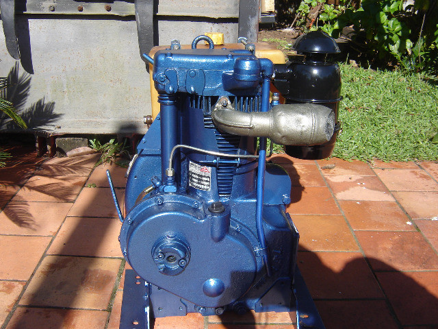 Motor Agrale M90 reformado