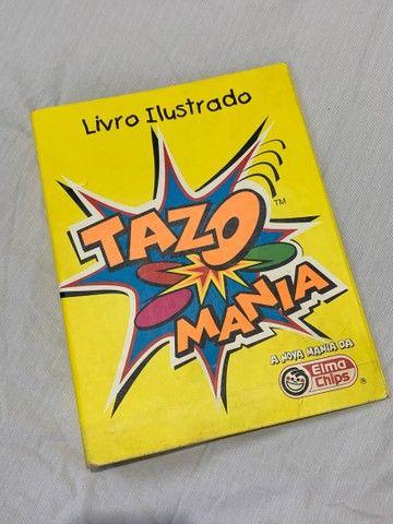 Álbum Livro Ilustrado Tazos Elma Chips