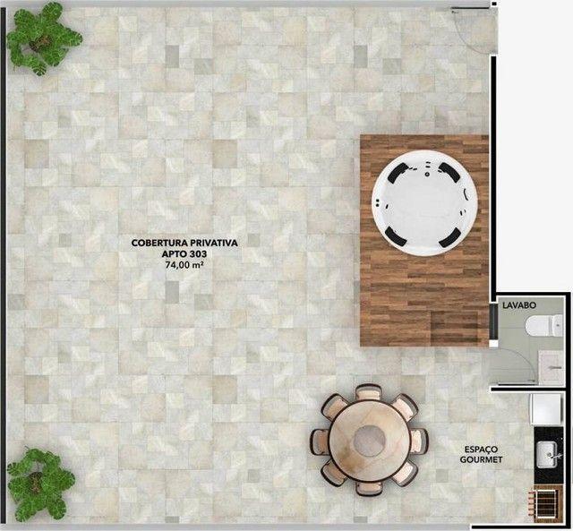 Apartamento para Venda em João Pessoa, Bessa, 2 dormitórios, 1 suíte, 2 banheiros, 1 vaga - Foto 8