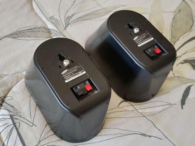 Caixas Acústicas Traseiras P/ Home Theather Samsung PS-RX40 - Foto 2