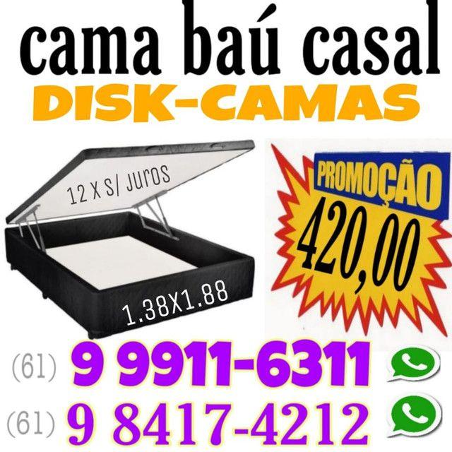 # Diskcamas -- Colchões e cama Box baú e cabeceiras é aqui !!!!  - Foto 3