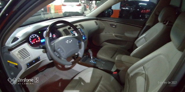 Azera 3.3 V6 Aut U.Dona Bx Km Couro Rodas Revisado Pneus Novos - Foto 7