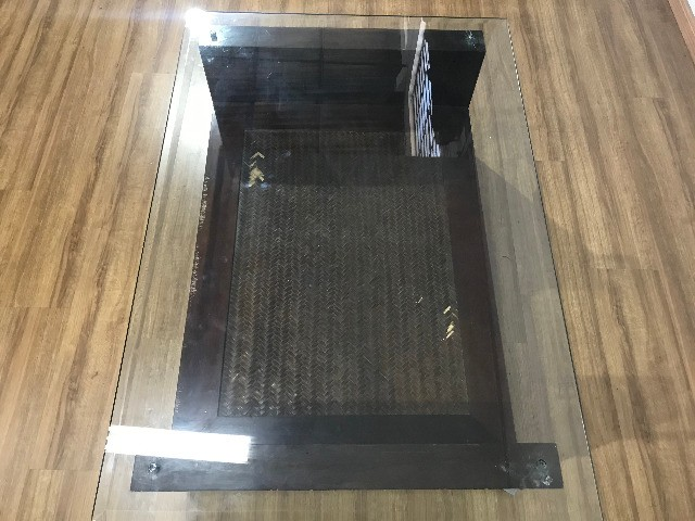 Mesa de Centro com Tampo de Vidro - Foto 5
