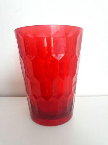 Conjunto de copos vermelhos - Foto 4