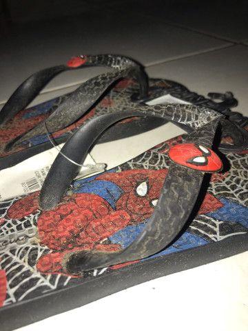 Chinelo do homem aranha - Foto 2
