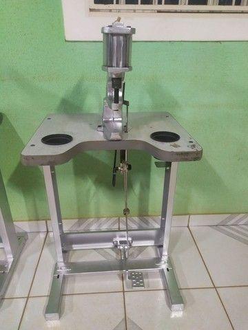 Máquina pregar botão, pneumática - Foto 2