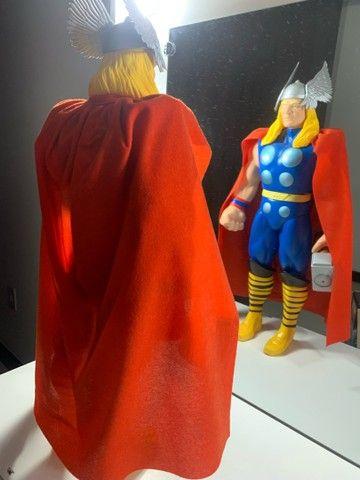 Boneco Thor Premium  Gigante vingadores 55 cm Colecionador  NOVO - Foto 4