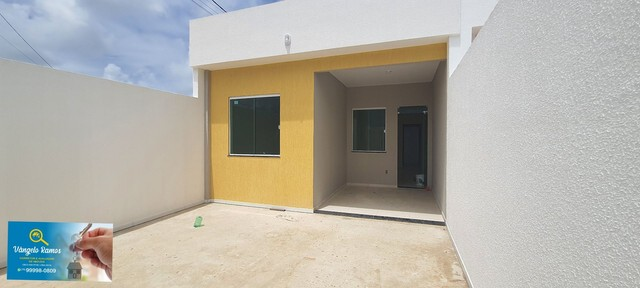 Casa, 2/4 ,suite, com projeto moderno,