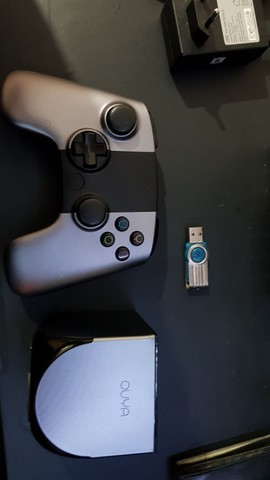 Console OUYA com controle e cartão de memória de 16gb - Foto 6