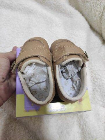 Sandália pimpolho - bebê - número 3 - Foto 4