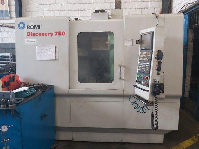 Centro de usinagem Romi Discovery 760