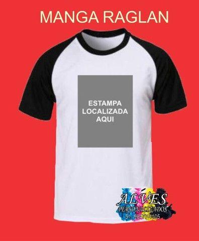 Camisetas sublimação localizada personalizada - Foto 6