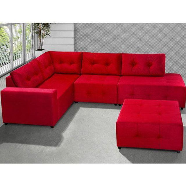 Restauração e reforma geral de sofa - Foto 5