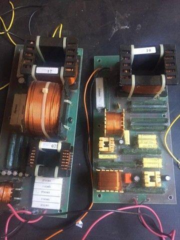 Dóis divisores de frequência monitor Staner Stage 212T, crossover passivo - Foto 3