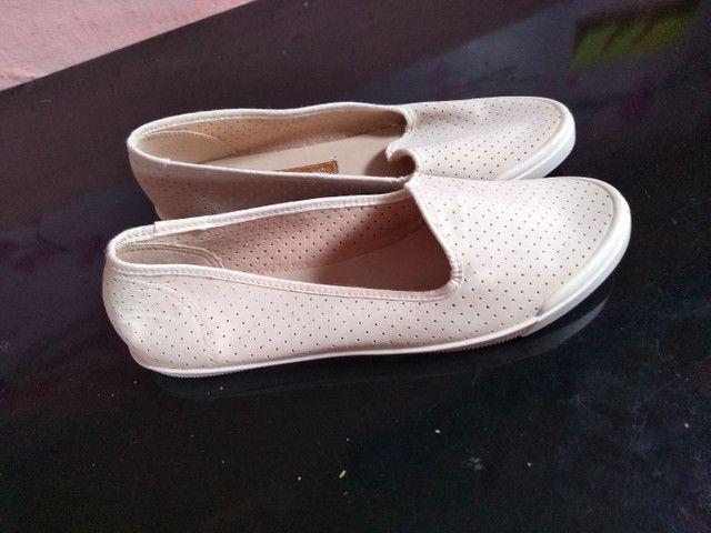 4 pares de calçados número 39.  - Foto 6