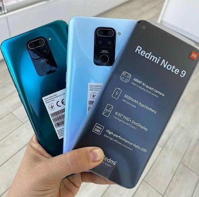 Redmi Note 9 128GB - Lacrado - Em Até 12x - 1 Ano De Garantia