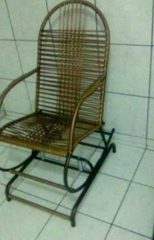 Reformo cadeira de macarrão  - Foto 3