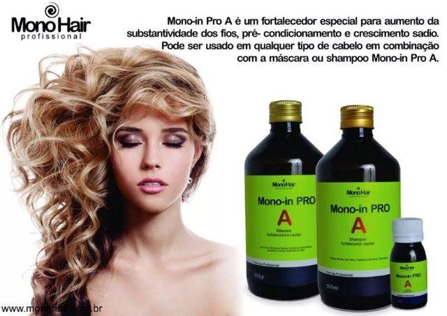 Kit Monovix Tratamento Capilar - Foto 2