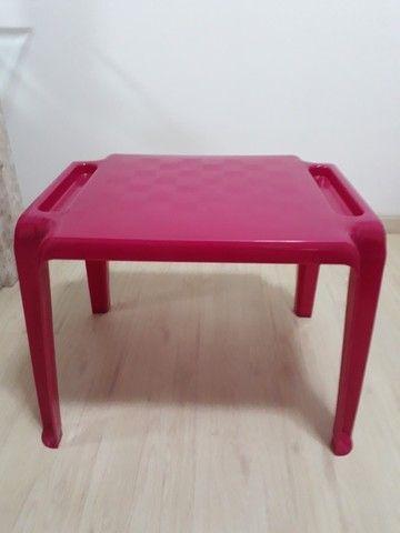 Conjunto de mesa e cadeira infantil - Foto 2