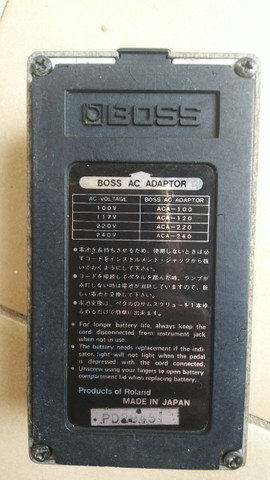 Pedal Boss GE-7 Equalizer Made in Japan - Foto 4