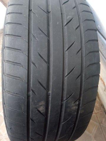 Rodas aro 20 com pneus meia vida  - Foto 8
