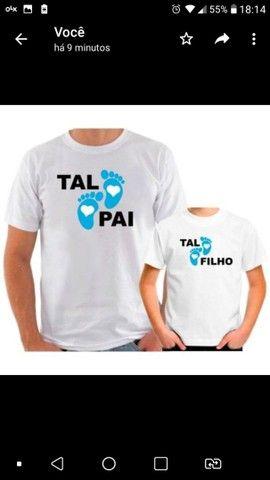 Camisetas sublimação localizada personalizada - Foto 4