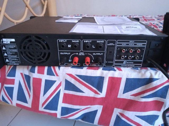 Amplificador e caixas acústicas - Foto 4
