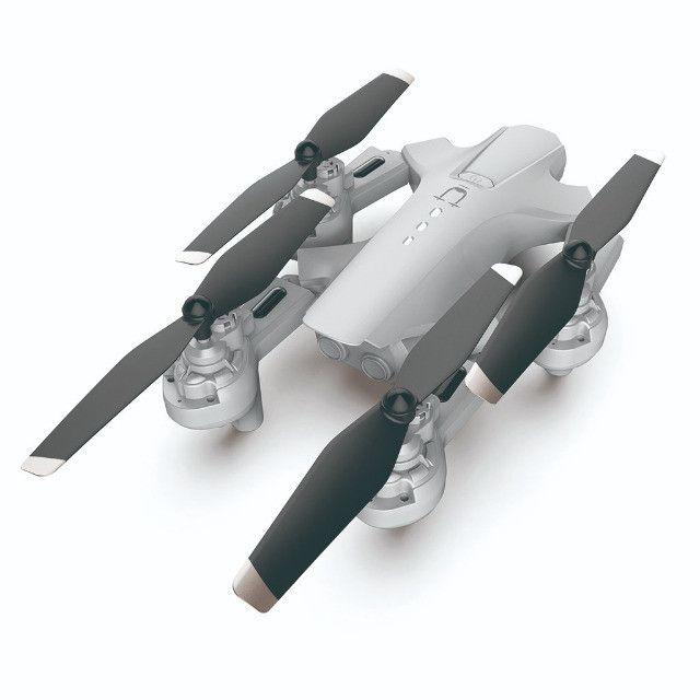 Drone Quadricóptero Rc Dobrável Com 4k Dual Hd Com Câmera Óptica Follow R$ 350,00 - Foto 4