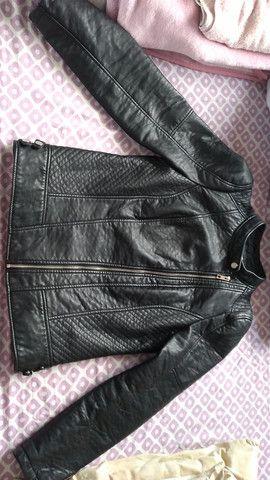 Jaqueta de couro feminina - Foto 3