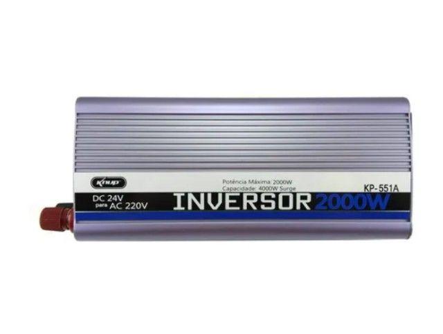 Inversor De Tensão Veicular 2000w - 24v / 220v - Foto 3