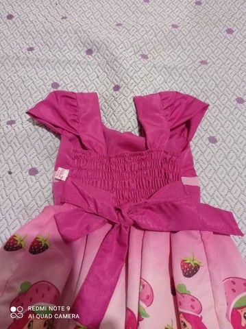 Vestido temático moranguinho - Foto 2