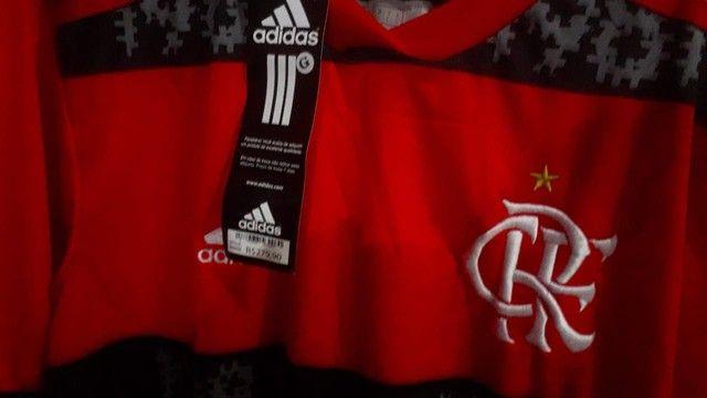 Vendo Camisa Original do Flamengo com alusão ao Mundial de 1981 - Foto 4