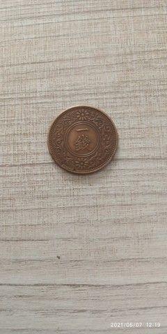 1 Sen do Japão Taisho 9 de 1920 de Bronze, soberba com patina. - Foto 2