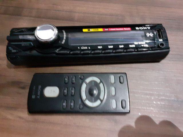 Frente cd player Sony com controle - Foto 6