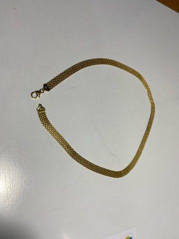 Colar feminino em Ouro 18k 14,5g