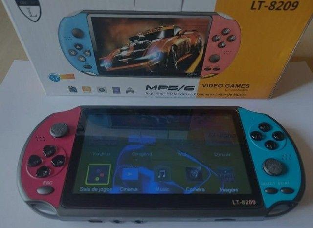PSP Vídeo Game Portátil Mp3 Mp5 Retrô Tela 5.1 Polegadas