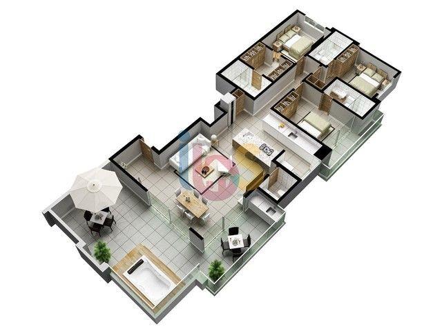 Apartamento à venda, 3 quartos, 3 suítes, 2 vagas, São Francisco - Ilhéus/BA - Foto 8