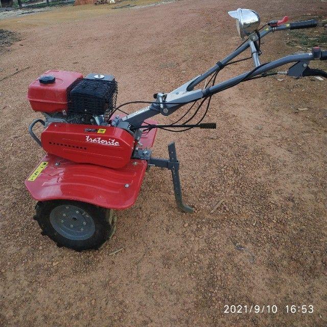 Tratorito Branco 6.5 gasolina - Foto 2