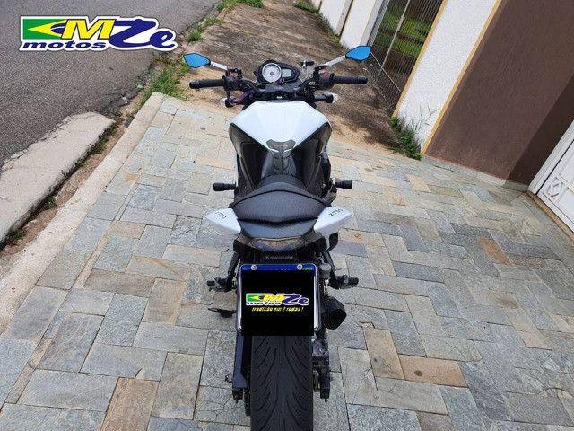 Kawasaki Z 750 2010 Branca com 64.000 km - Foto 13