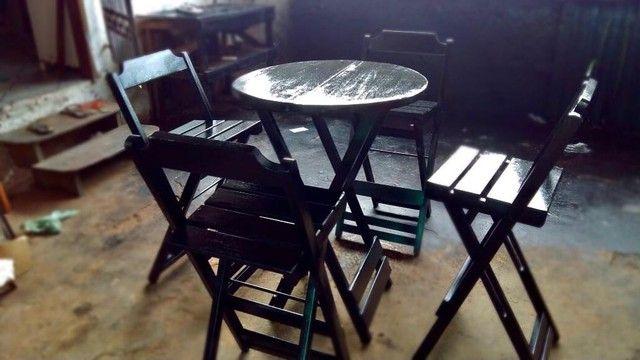 Mesas e cadeiras bistrô  - Foto 5