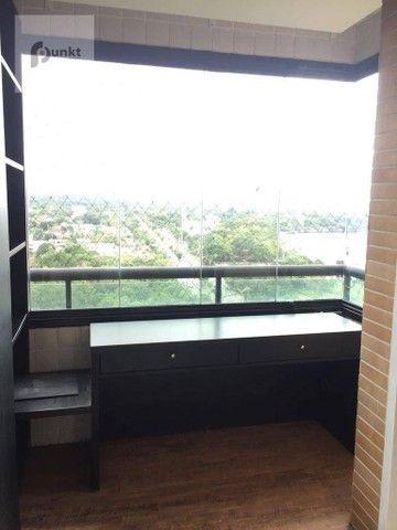 Apartamento com 4 dormitórios para alugar, 195 m² por R$ 7.000/mês - Ponta Negra - Manaus/ - Foto 17