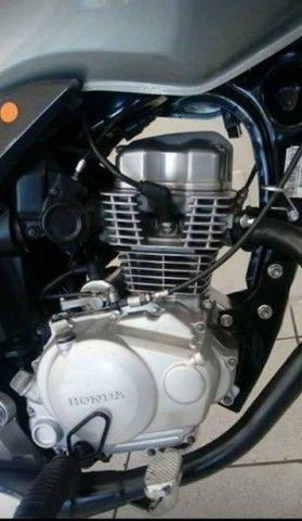 Honda CG 150 (Prata) No Preço...  - Foto 6