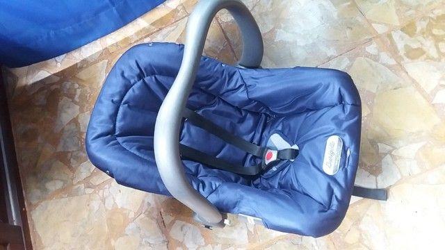 Carrinho de Bebê + Bebê Conforto - - Foto 4