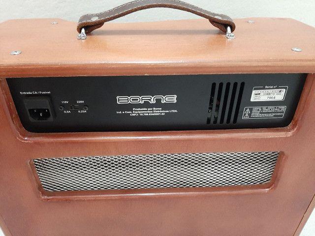 Amplificador cubo valvulado Classico T7 Borne - Foto 4
