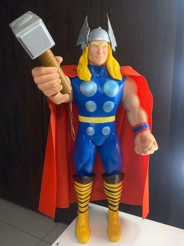 Boneco Thor Premium  Gigante vingadores 55 cm Colecionador  NOVO - Foto 3