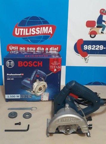 Serra Mármore Titan 1.500w Bosch Gdc 150 ?Entrega grátis  - Foto 3